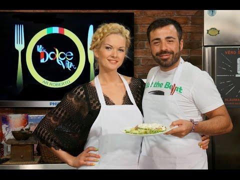 La Dolce Vita. Inese Dāvidsone ar Roberto - Riga TV 24