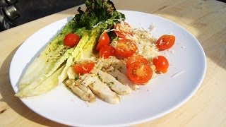 Heather's Honey Dijon Citrus Grilled Chicken Salad Recipe