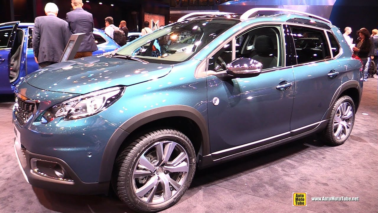 2017 peugeot 2008 crossway 1 2 110hp exterior and interior walkaround 2016 paris motor show. Black Bedroom Furniture Sets. Home Design Ideas