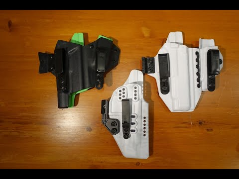 Appendix Carry: Choosing Your Style of AIWB Holster