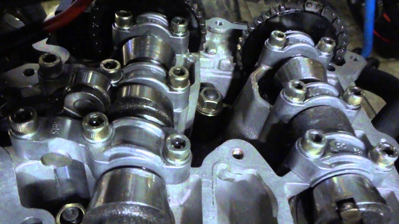 rotax 655 camshaft work - youtube