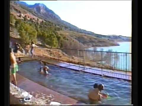 piscina de aguas termales en z jar granada youtube