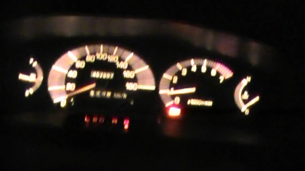 L.E.D. Dash Lights DON'T DO IT Tarago, Previa, Estima, TCR ...