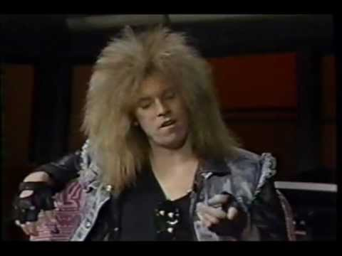 "Lizzy Borden 1988 Headbangers Ball interview, plus ""Born to Be Wild"""