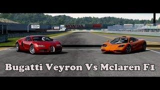 Forza Motorsport 4 Battle - S2.E10: Bugatti Veyron Vs Mclaren F1