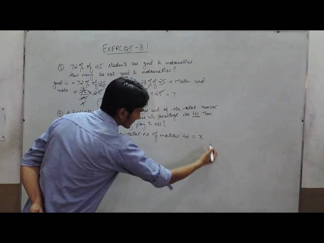 Exercise 8.1 - Question 3 and 4 NCERT/CBSE Solutions for Class 8th Maths Comparing Quantities