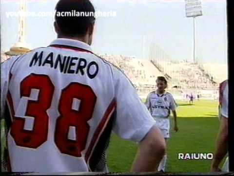 Serie A 1997/1998 | Fiorentina vs AC Milan 2-0 | 1998.05.16