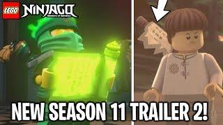 LEGO Ninjago Season 11 NEW Official Trailer 2 FULL Analysis! *Garmadon & Aspheera!*