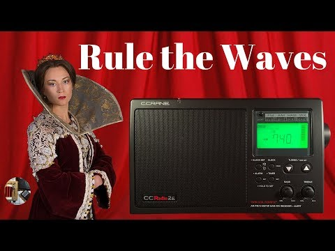Rule the Waves! C.Crane CC Radio 2E AM FM WB HAM Radio Review