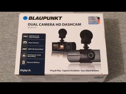 Blaupunkt BPDV142 Dashcam Unboxing
