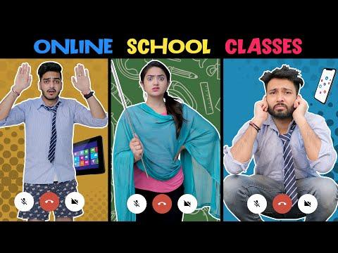 ONLINE SCHOOL CLASSES || Rachit Rojha || Baklol Video