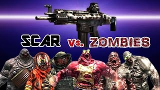 Dead Trigger 2 SCAR Mk10 vs. Zombies HD
