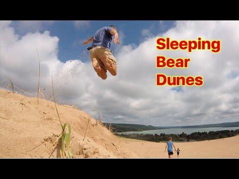 SLEEPING BEAR DUNES AND LAKE MICHIGAN BEACH- VLOG4