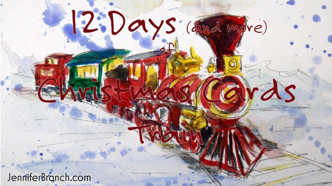 Train Christmas Card - YouTube