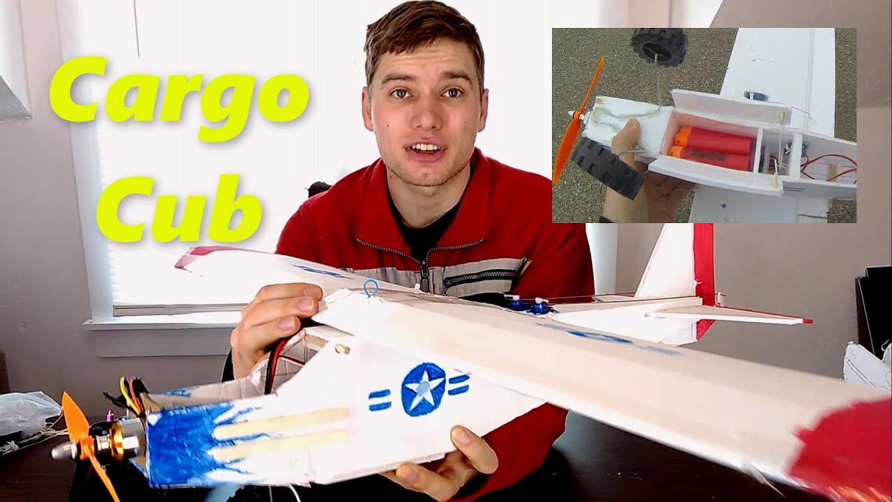 Patriot Cargo Cub - RC Plane with Bomb Bay
