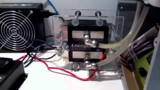 Demonstração de funcionamento do Gerador de Energia Limpa
