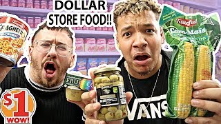 I Only Ate DOLLAR STORE FOOD For 24 Hours!! (FEAT. ITSYEBOI)