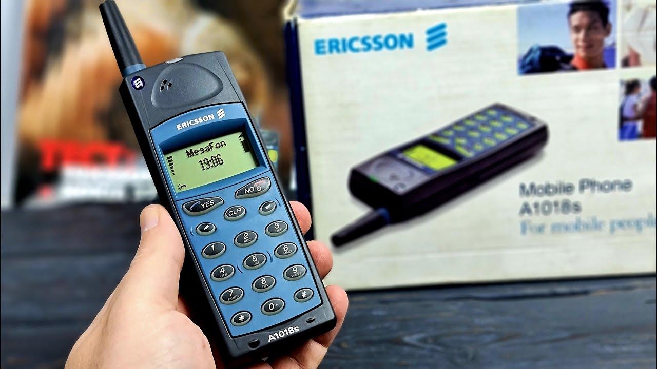 Ericsson A1018s: твой самый первый мобильник (1999) – ретроспектива