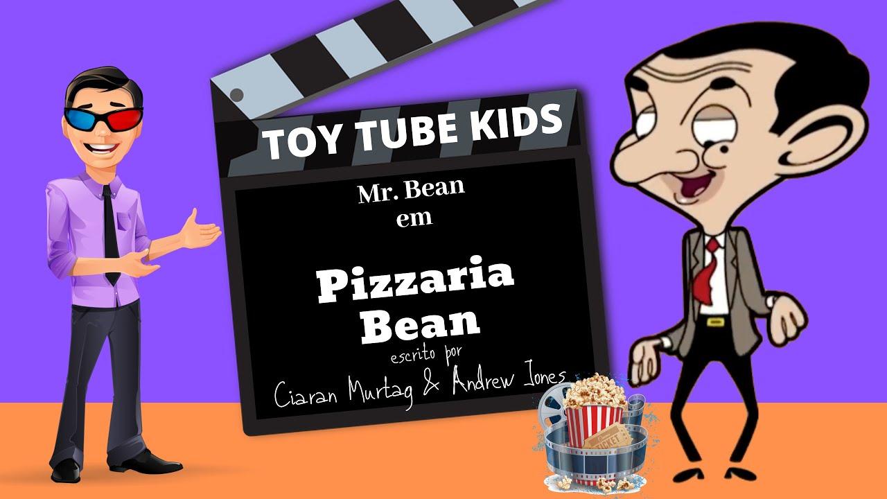 Mr Bean Desenho Animado | Pizzaria Bean | TOY TUBE KIDS