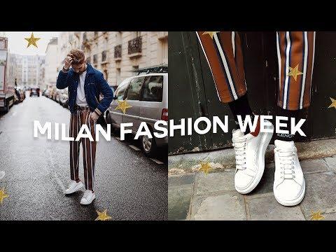 MILAN FASHION WEEK VLOG - Outfits, Runway Shows + Exploring! // Imdrewscott