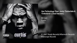 50-cent---ayo-technology-feat-justin-timberlake-timbaland-clean-version