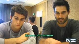 Волчонок: Интервью с Диланом и Тайлером, Комик Кон [rus subs]