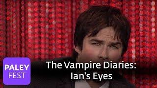 The Vampire Diaries - Ian Somerhalder, Paul Wesley, Nina Dobrev on Ian