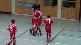 U16 Jhg2002 Borussia Dortmund - FC Bayern München 1:4; NORIT Cup Dettelbach 13.01.2018