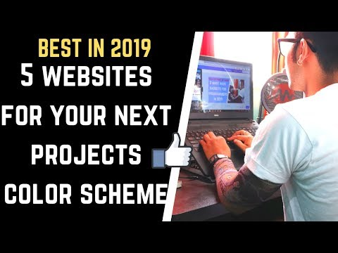 Top 5 Best Websites To Choose Color Palette / Schemes / Pickers / Combinations For Your Website 2019