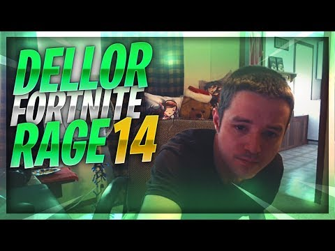 DELLOR FORTNITE MEGA RAGE 14 *BREAKS KEYBOARD AND MOUSE*