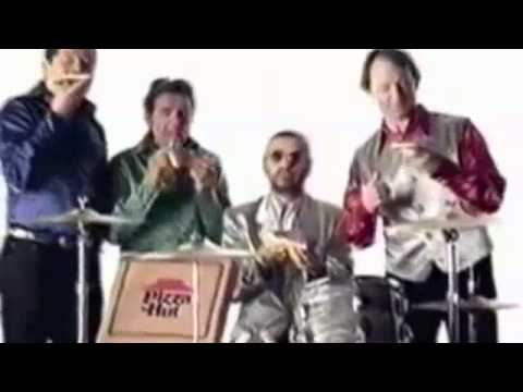 The Beatles Meet The Monkees Pizza Hut commercial