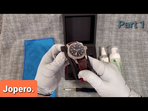 How To: Clean And Condition Your Leather Watch Strap Like A Pro. (Part 1)