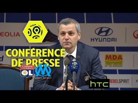 Conférence de presse Olympique Lyonnais - Olympique de Marseille (3-1) Ligue 1 / 2016-17