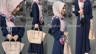 Hijab Dresses, jilbab & abayas part 2 |2016 فساتين سهرة للمحجبات |ازياء و موضة