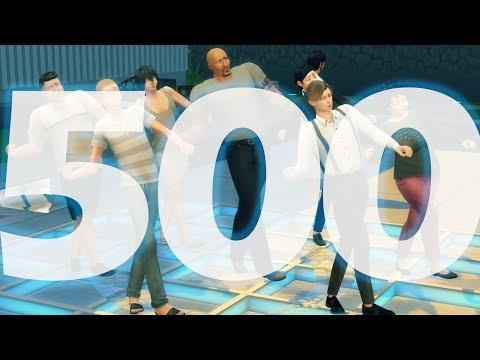 구독자 500명 기념 영상을 만들고 있었다. 그런데..... #심즈4 / I was celebrating for 500 subscribers, but....  #SIMS4