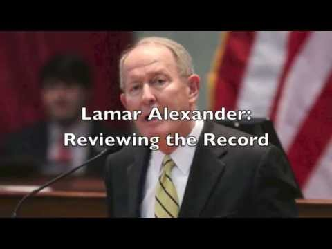 Lamar Alexander No Conservative