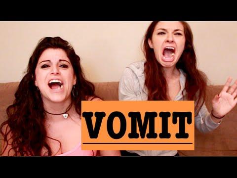 vomit lesbians Puke