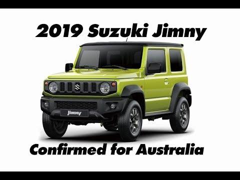 2019 Suzuki Jimny Confirmed For Australia