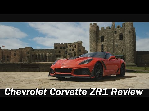2019 Chevrolet Corvette ZR1 Review (Forza Horizon 4)