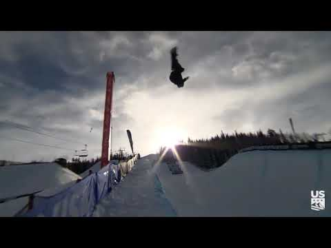 Shaun White manages a perfect run with the maximum score of 100 points