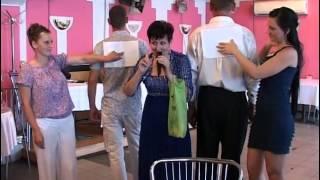 Улётный конкурс от тамады!(супер конкурс у брата на свадьбе!!!, 2012-10-09T22:02:29.000Z)