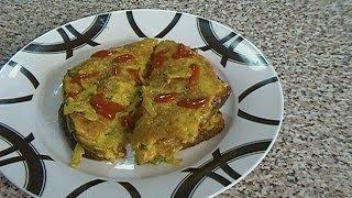 Masala Omelette {indian Cuisine}