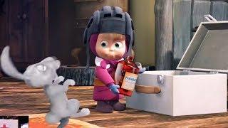 Маша и медведь - Первые серии - Мультики про зиму | Лыжню! и По щучьему велению