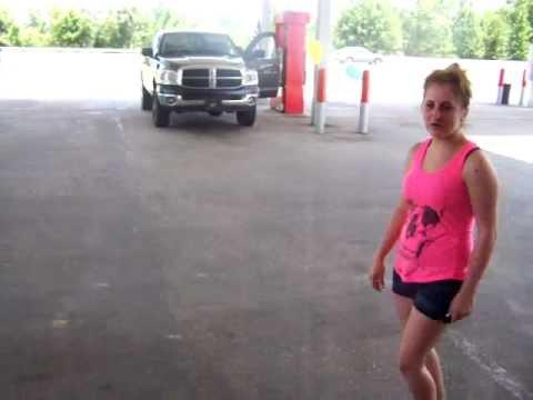 Customer Appreciation Day at Texaco Station