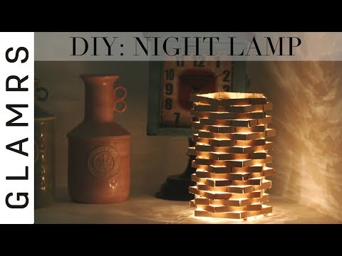 DIY Night Lamp Using Clothespin - Cheap & Easy   Diwali Decoration Ideas   Best Out of Waste