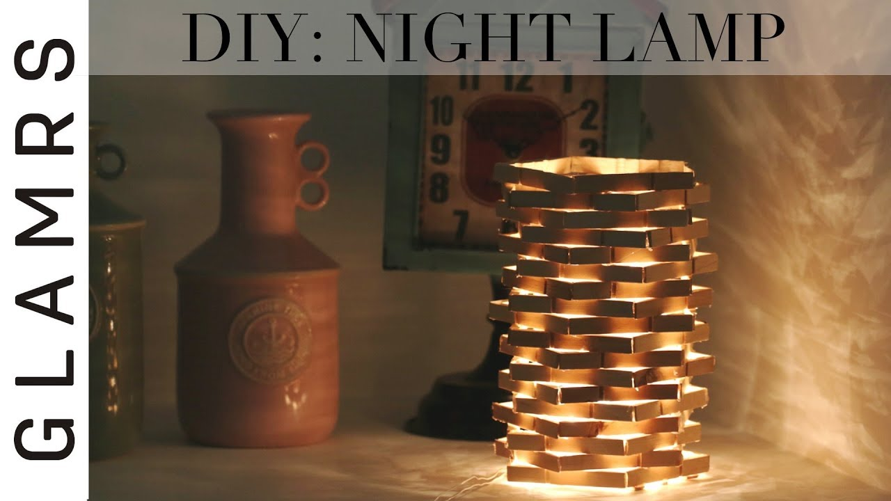 Diy Night Lamp Using Clothespin Cheap Amp Easy Diwali
