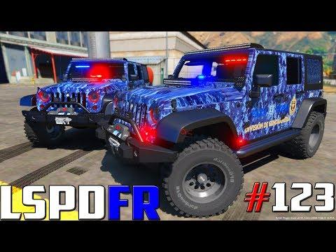 GTA V LSPDFR #123 POLICÍA FEDERAL DIVISIÓN GENDARMERIA - PÁNICO   TheAxelGamer
