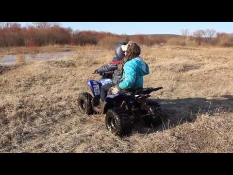 Квадроцикл Yamaha Raptor 90