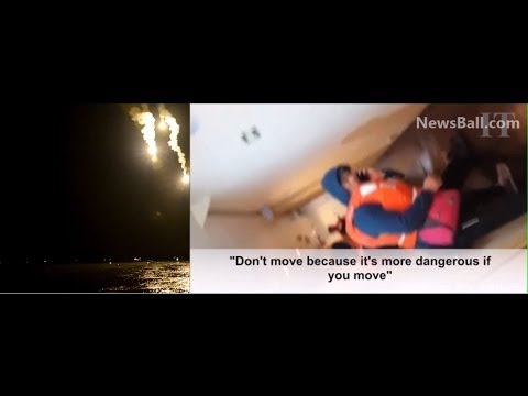 20 MINUTES RAW VIDEO ABOARD SUNKEN SOUTH KOREA FERRY TITANIC SHIP SHOWING PASSENGERS BEFORE DROWNING