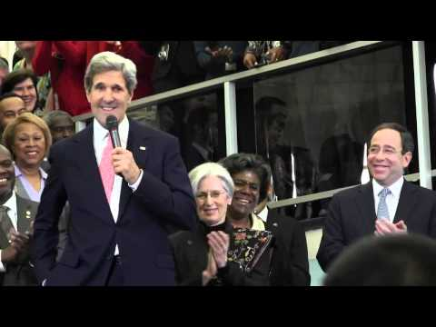 2013-02-04 Secretary Kerry Welcome